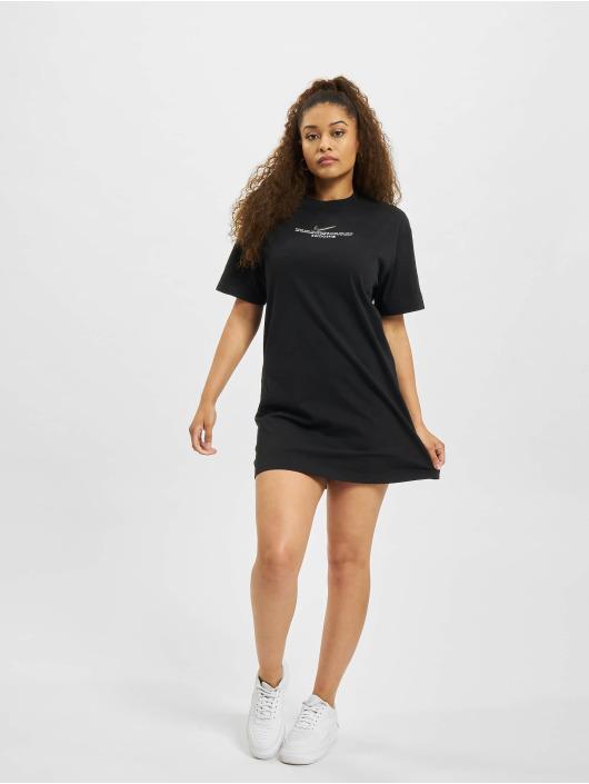 Nike jurk W Nsw Swsh SS zwart