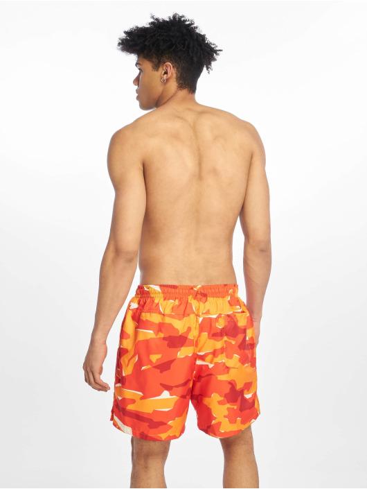 Nike Kúpacie šortky CE Camo Woven oranžová