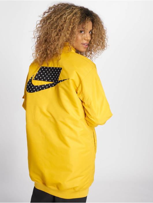 Nike Kabáty Sportswear žltá