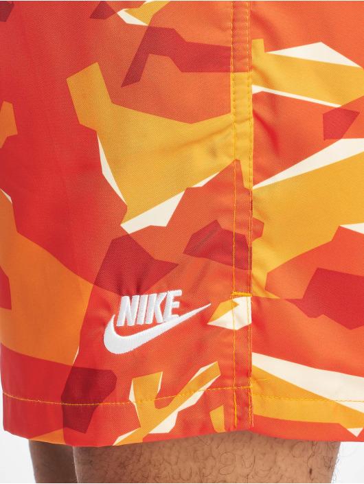 Nike Kąpielówki CE Camo Woven pomaranczowy