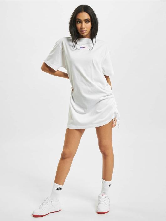Nike Klänning W Nsw Essntl Prnt vit