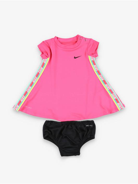 Nike Kleid Rainbow Taping pink