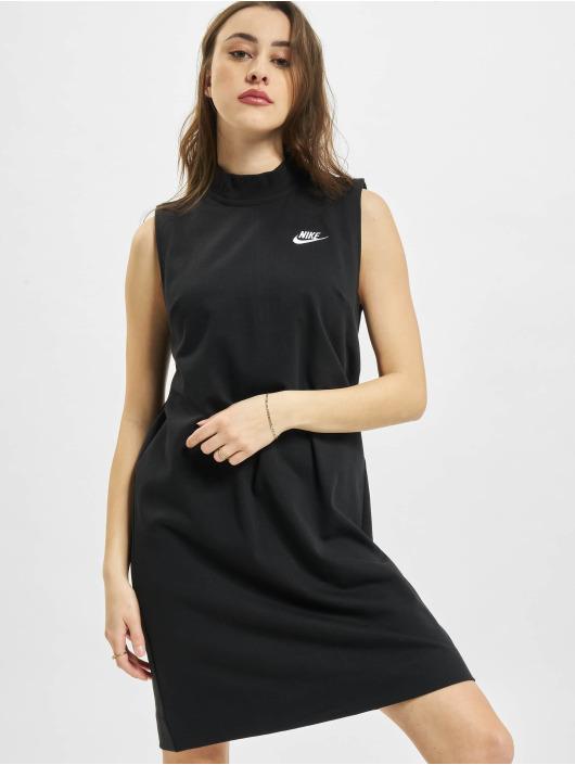 Nike Kleid W Nsw Jrsy schwarz