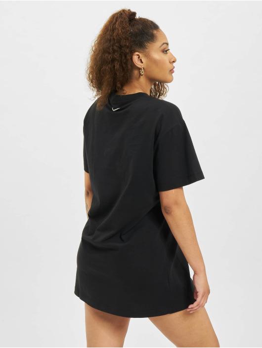 Nike Kleid W Nsw Essntl Prnt schwarz
