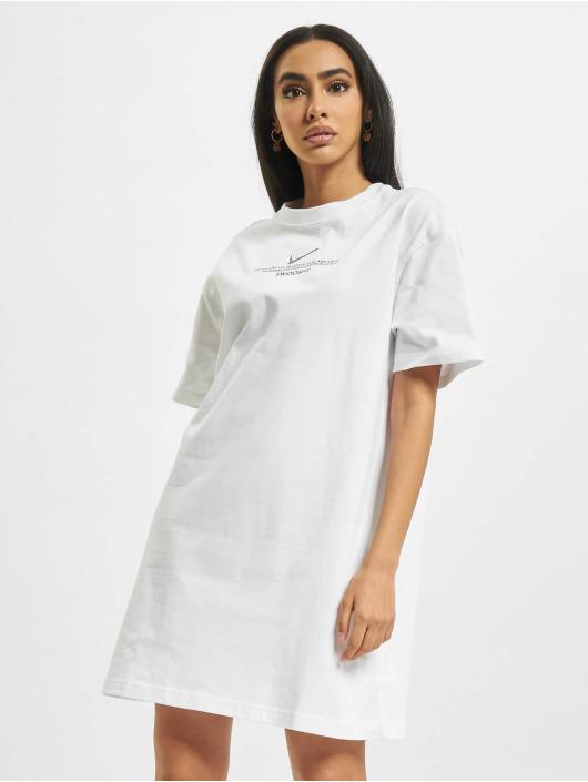 Nike Kleid W Nsw Swsh SS weiß