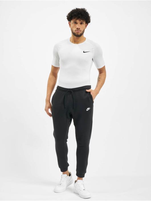 Nike Kompresjon shirt Pro Short Sleeve Tight hvit