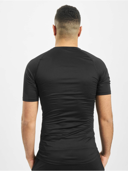Nike Kompressionsshirt Pro Short Sleeve Tight czarny