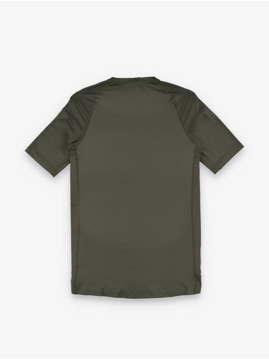 Nike Kompressionsshirt Pro Short Sleeve Tight khaki