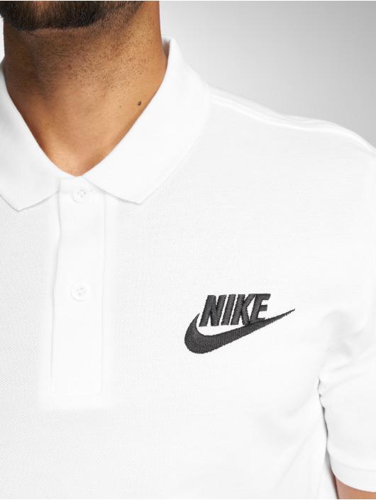 Nike Koszulki Polo Sportswear Polo bialy