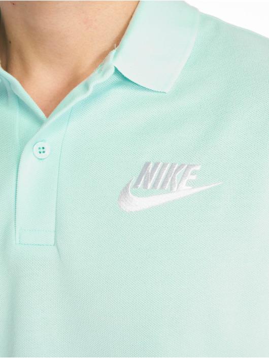 Nike Koszulki Polo Matchup PQ turkusowy