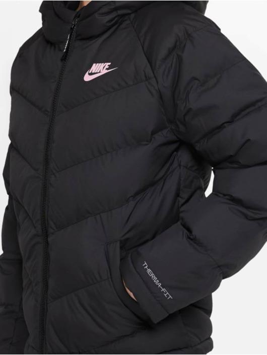 Nike Kurtki pikowane Synthetic Fill czarny