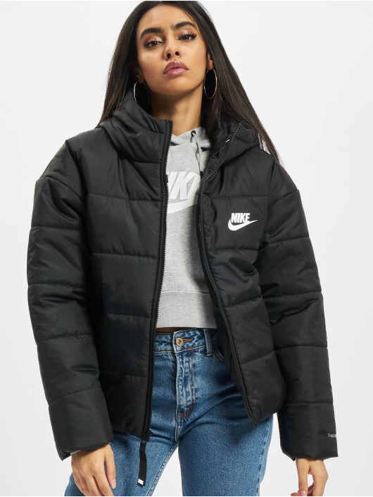 Nike Kurtki pikowane Classic czarny