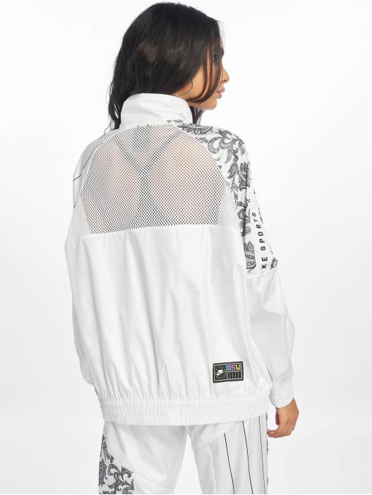 Nike Kurtki przejściowe Woven bialy