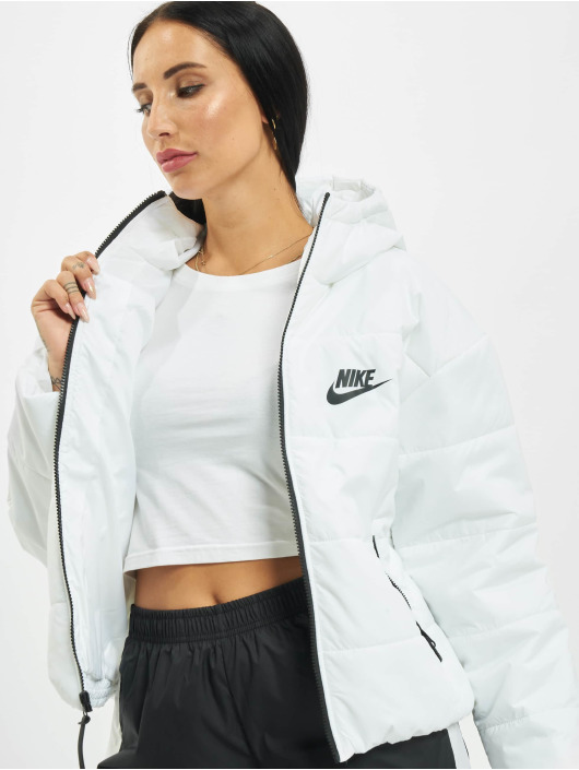 Nike Kurtki przejściowe Core Synthetic bialy