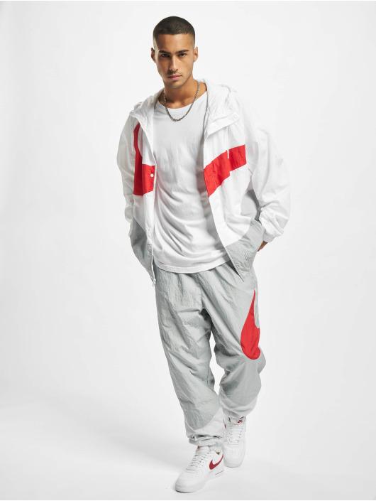 Nike Kurtki przejściowe Swoosh bialy