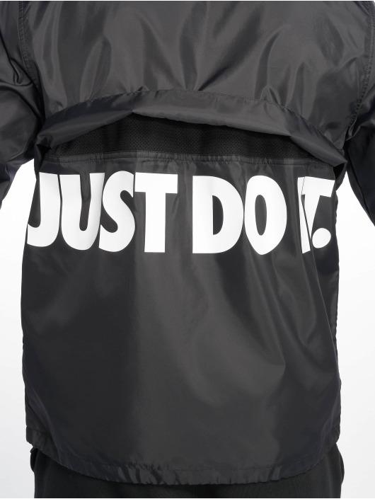 Nike Kurtki przejściowe JDI HD Woven czarny