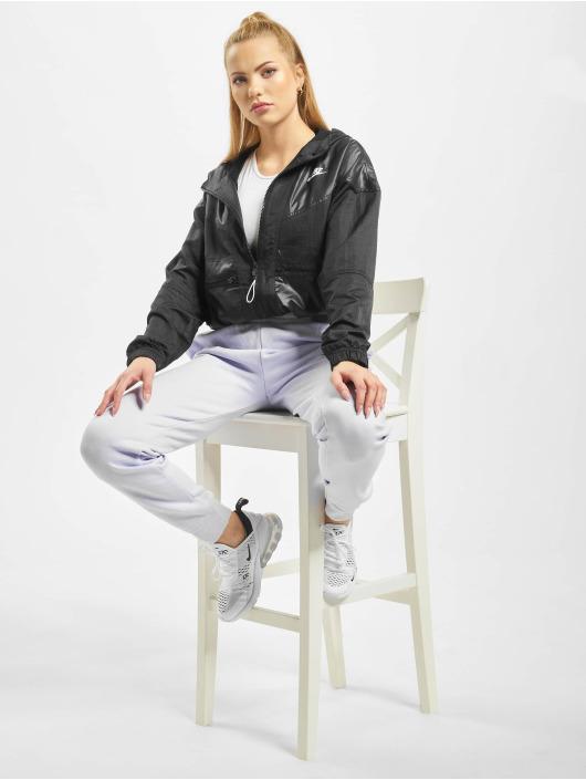 Nike Kurtki przejściowe Cargo Rebel czarny