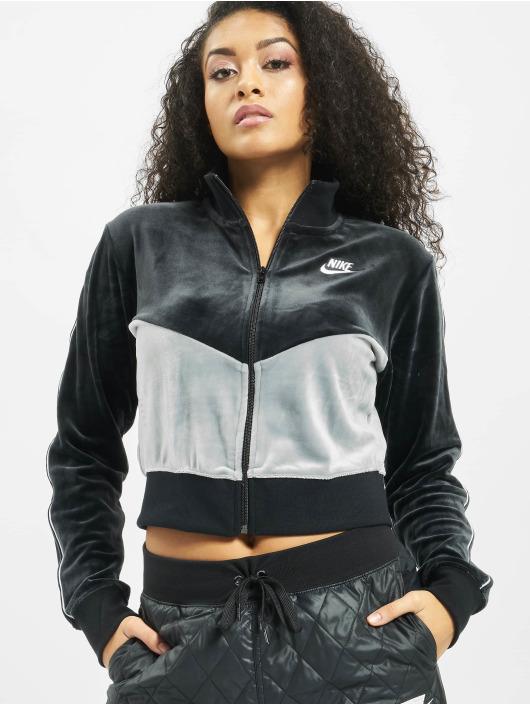 Nike Kurtki przejściowe Heritage Plush czarny
