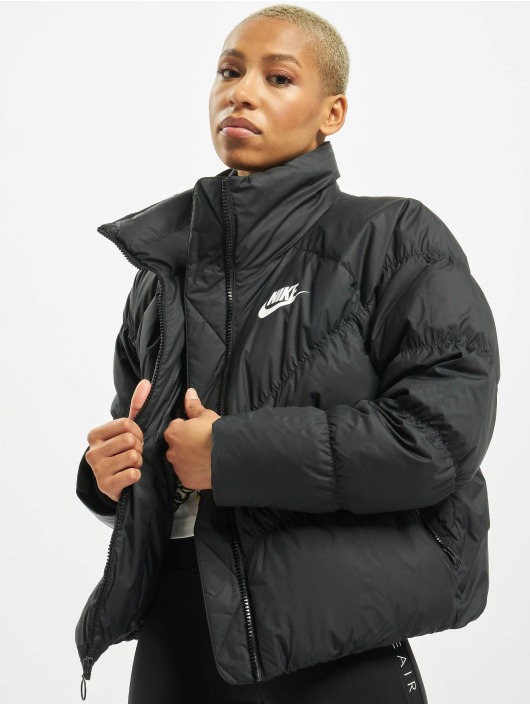 Nike Kurtki zimowe Down Fill czarny
