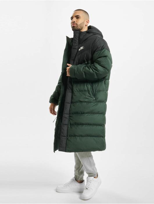 Nike Kurtki zimowe Down Fill Windrunner zielony