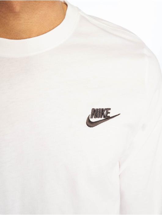 Nike Langermet Club LS hvit
