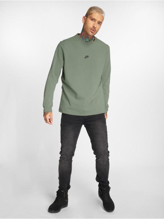 Nike Langermet Sportswear oliven