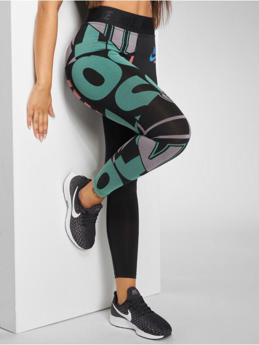 Nike Legíny/Tregíny AOP èierna