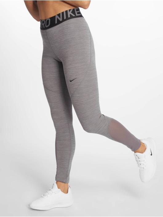 Nike Broek Legging Pro In Grijs 586925