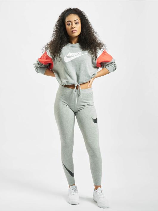 Nike Legging Legasee Swoosh grijs