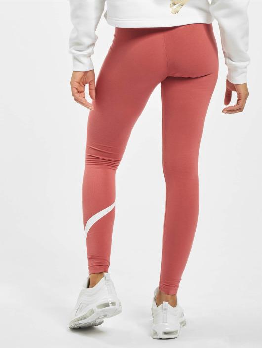 Nike Legging Club Logo 2 rot