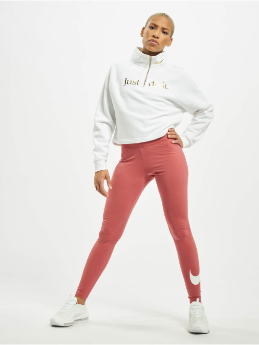 Nike Legging Club Logo 2 rouge