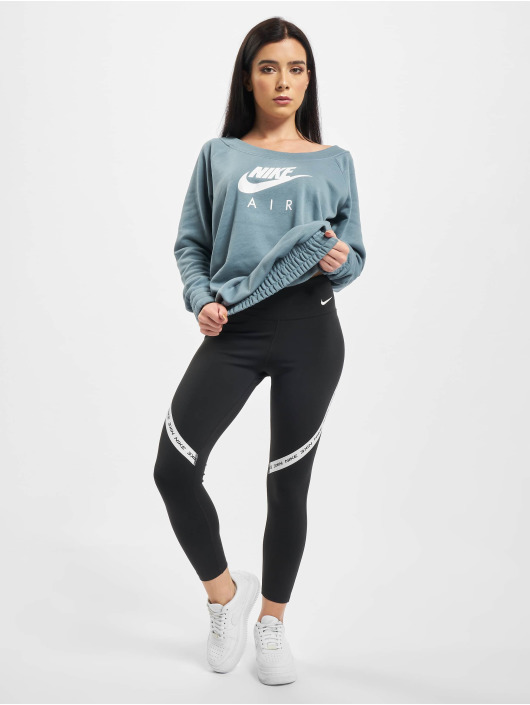 Nike Legging One Tight Crop schwarz