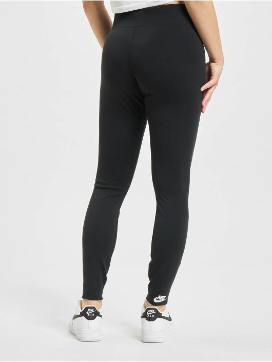 Nike Legging Legasee Zip schwarz