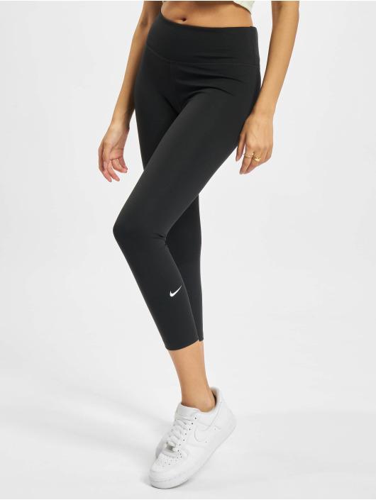 Nike Legging One Capri schwarz