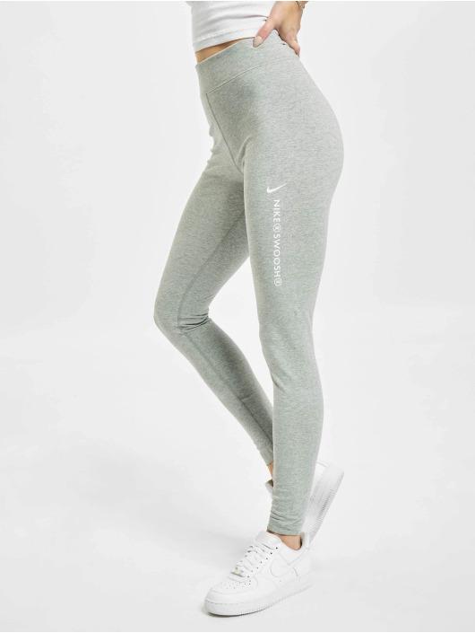 Nike Legging/Tregging W Nsw Swsh Hr gris