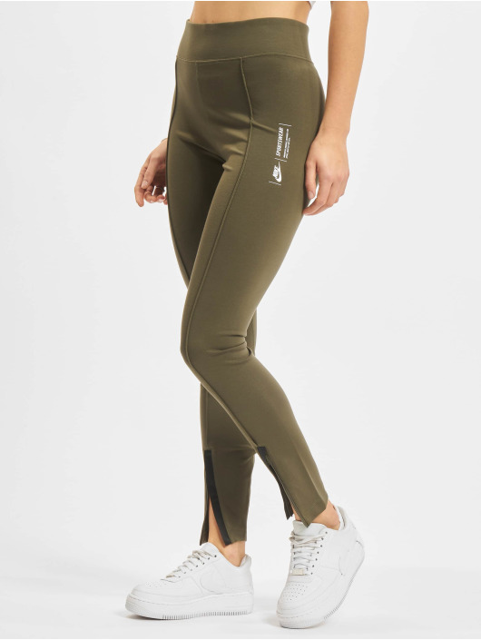 Nike Legging/Tregging Legasee Zip khaki