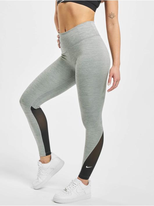 Nike Leggings deportivos One 7/8 gris