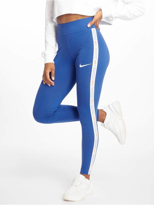 Nike Leggings/Treggings Sportswear blå