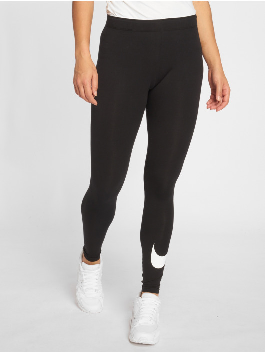 Nike Leggings/Treggings Club Logo 2 czarny