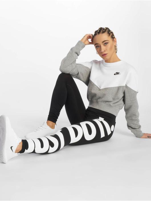 Nike Leggings/Treggings Sportswear czarny