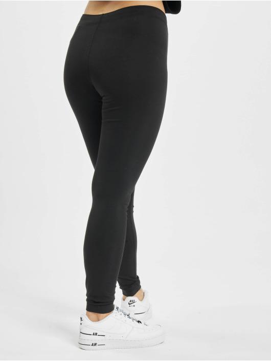 Nike Leggings/Treggings Icon Clash czarny