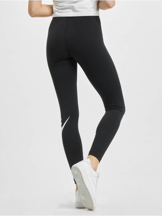 Nike Leggings/Treggings Essential GX HR czarny