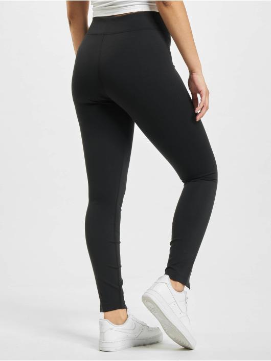 Nike Leggings/Treggings W Nsw Legasee Zip czarny