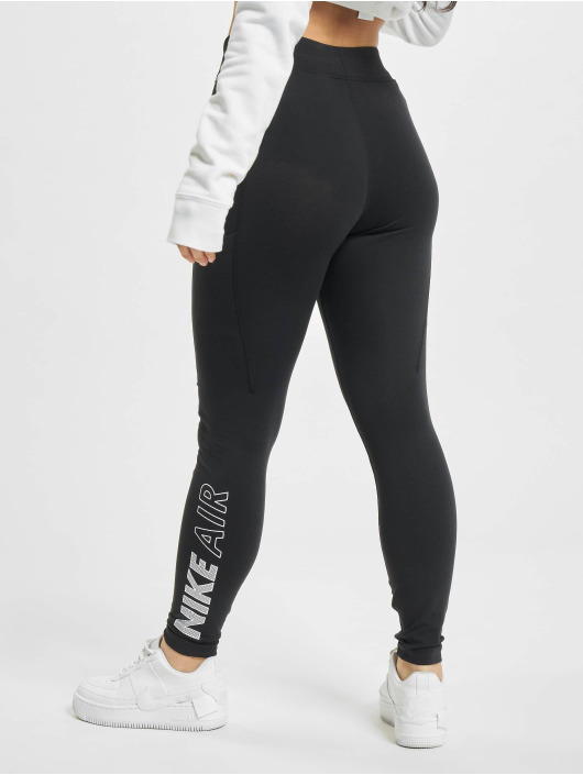 Nike Leggings/Treggings W Nsw Air Hr czarny