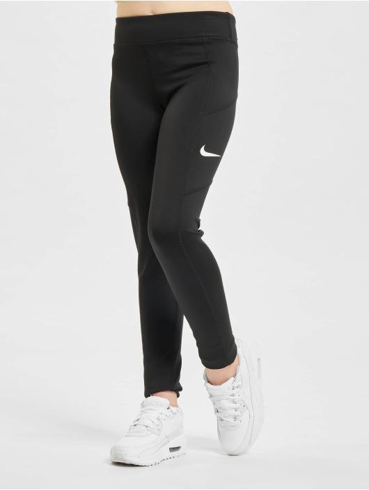 Nike Leggings/Treggings Trophy czarny