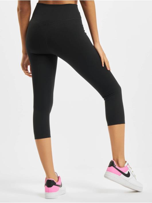 Nike Leggings/Treggings One Capri czarny