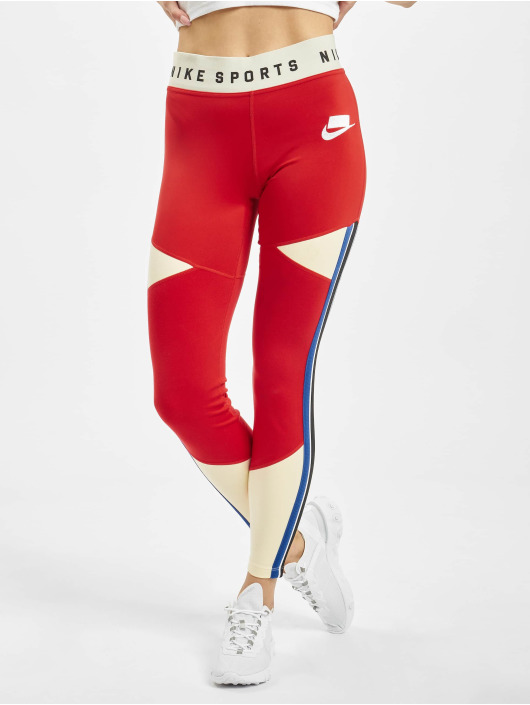 Nike Leggings/Treggings GX czerwony