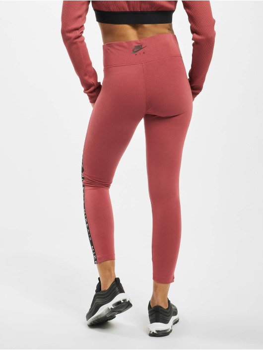 Nike Leggings/Treggings Air czerwony