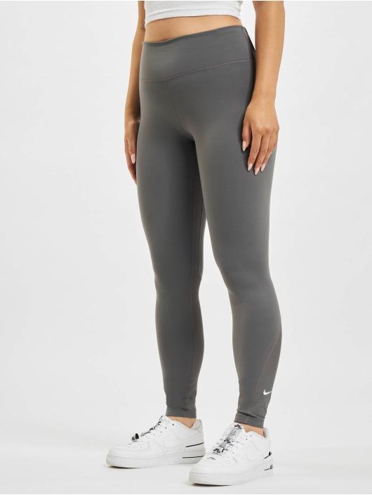Nike Leggings/Treggings One 7/8 grå