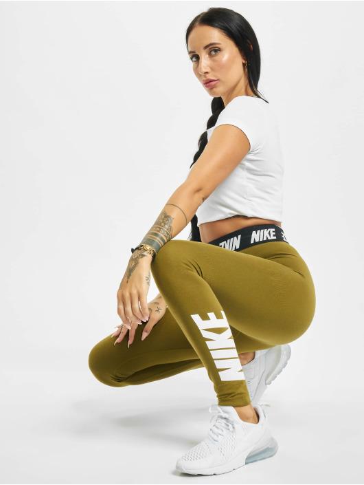 Nike Leggings/Treggings Club HR olive